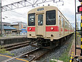 JNR 105 Sakurai Line train at Unebi Station 2012-05-04.jpg