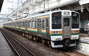 Agatsuma Line - Image: JNR 211 3000 02