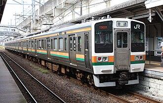 Jōetsu Line - Image: JNR 211 3000 02