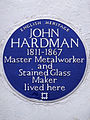 JOHN HARDMAN 1811-1867 Master metalworker and stained glass maker lived here.jpg