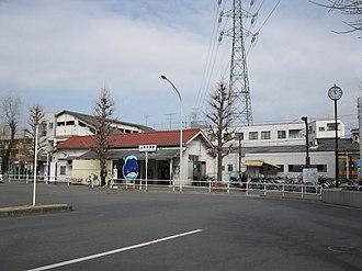 Higashi-Nakagami Station - Higashi-Nakagami Station, in February 2009