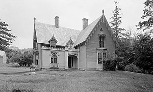Strafford, Vermont - Justin Smith Morrill House.