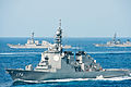 JS Chōkai, USS Mustin and JS Ariake in the East China Sea after Keen Sword 2013, -16 Nov. 2012 d.jpg