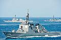 JS Chōkai, USS Mustin and JS Ariake in the East China Sea after Keen Sword 2013, -16 Nov. 2012 d.jpg