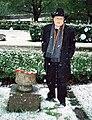 Jacob Truedson Demitz at Emma Sandberg grave 2008.jpg
