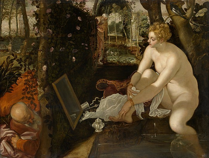 Jacopo Robusti, called Tintoretto - Susanna and the Elders - Google Art Project