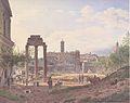 Jakob Alt - Das Forum Romanum in Rom - 1837.jpg