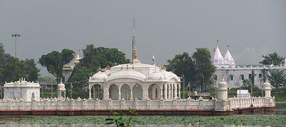 Jal Mandir.The Jain Temple at Pawapur,