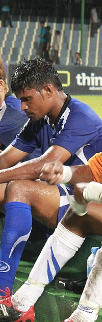 Jameel after President's Cup Final 2011.jpg