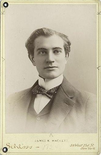 James K. Hackett (actor) - Image: James Keteltas Hackett