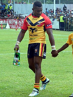 James Segeyaro Papua New Guinea rugby league player