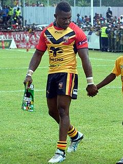 James Segeyaro PNG international rugby league footballer