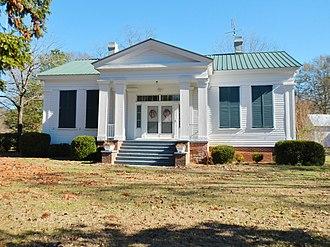 Sandy Ridge, Alabama - The James Spullock Williamson House, located in Sandy Ridge, is a Greek Revival-style plantation home.