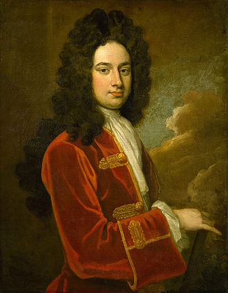 James Stanhope, 1st Earl Stanhope - Portrait by Godfrey Kneller