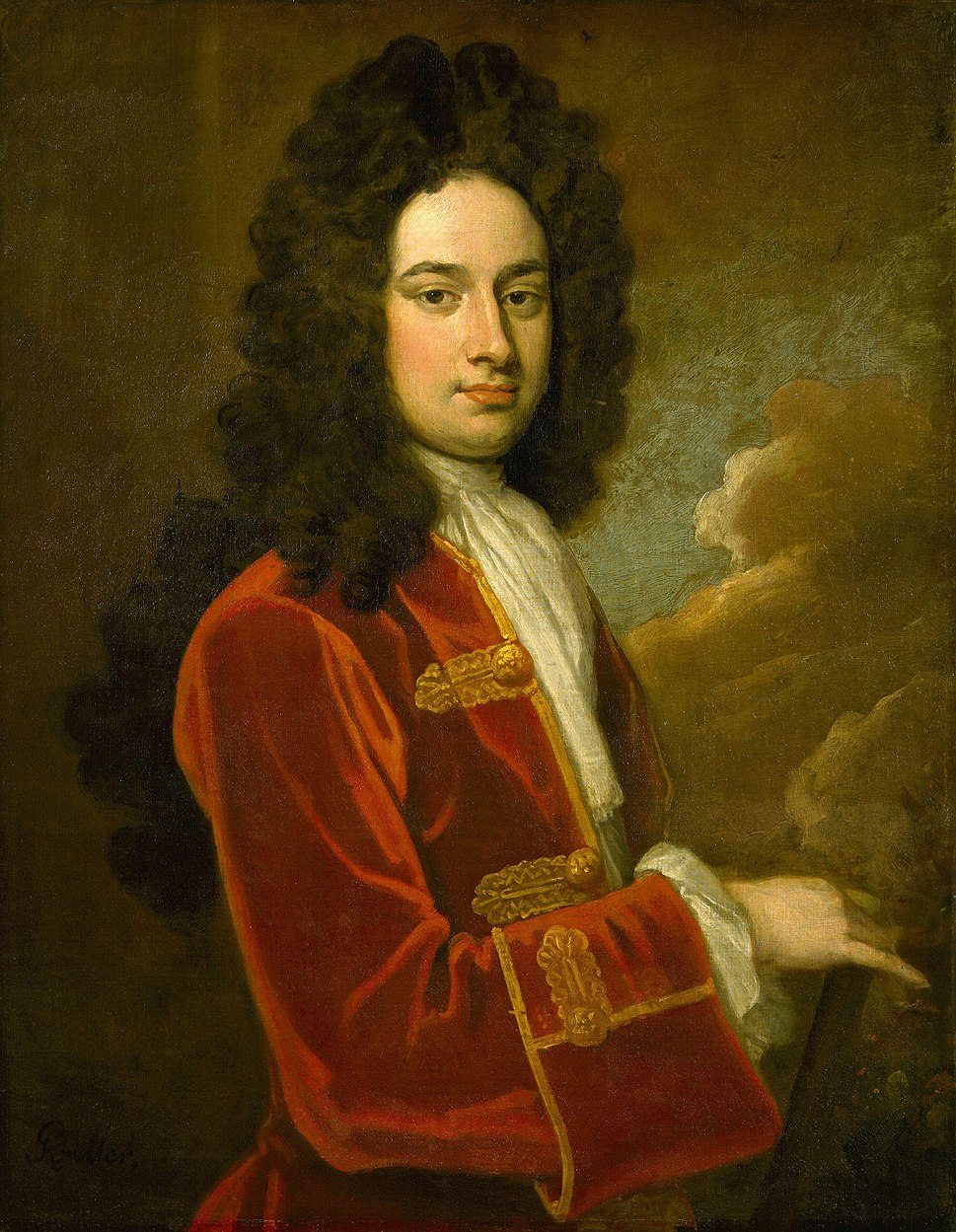 James Stanhope, 1st Earl Stanhope by Sir Godfrey Kneller, Bt