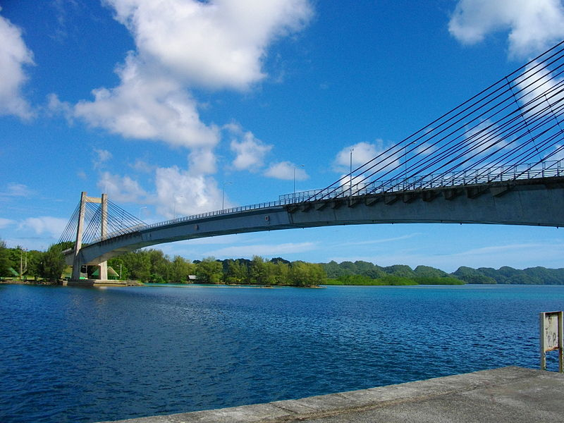 ファイル:Japan-Palau Friendship Bridge 2.JPG