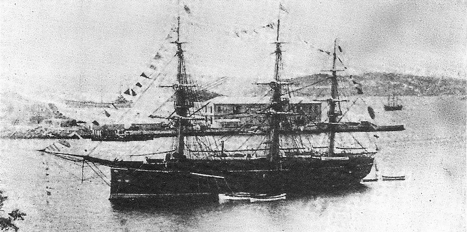 Japanese Ironclad warship Ryujo