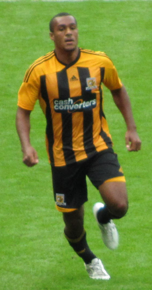 Jay Simpson - Simpson playing for Hull City in 2011