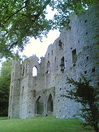 Belvedere House and Gardens - Ireland's largest folly, the Jealous Wall