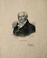 Jean-Nicolas, Baron Corvisart. Lithograph by C. Bazin after Wellcome V0001304.jpg