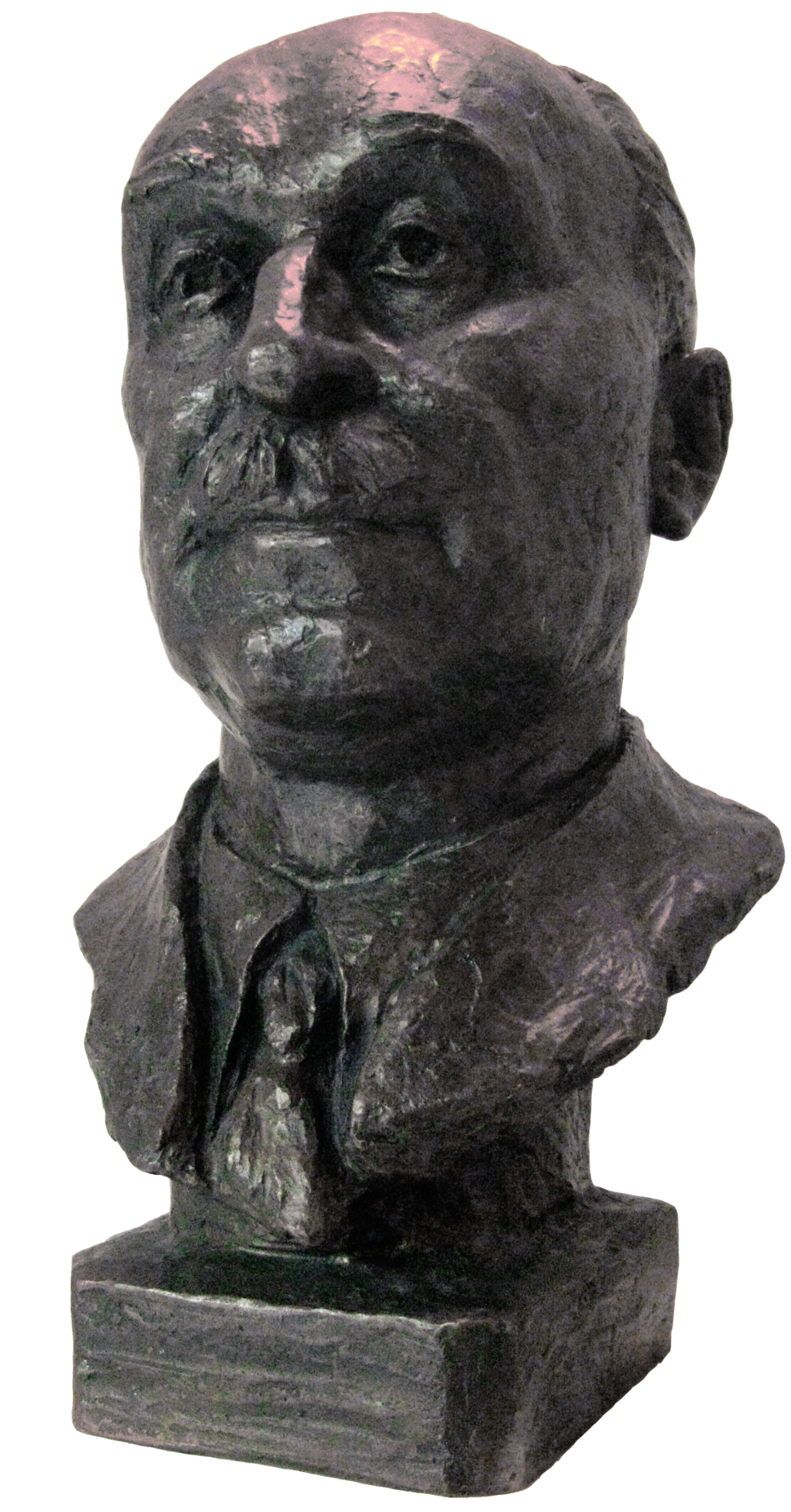 Jean Monnet bust in the Peace Palace