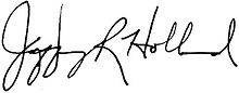 Signature of Jeffrey R. Holland