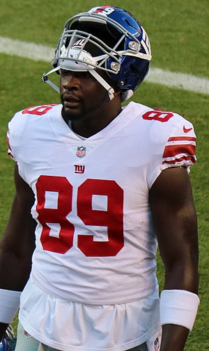 Jerell Adams - Adams with the New York Giants in 2017.