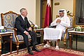 Jim Mattis with Sheikh Tamim bin Hamad Al-Thani in Qatar (23519218878).jpg