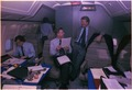 Jimmy Carter, Zbigniew Brzezinski aboard Air Force One - NARA - 177300.tif