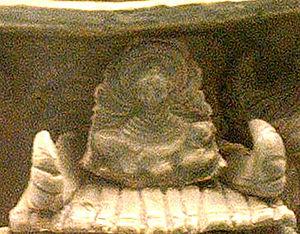History of the Jin dynasty (265–420) - Jìn era Buddha image (Hunping jar detail).