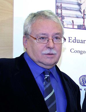 President of the Community of Madrid - Image: Joaquín Leguina 2012b (cropped)