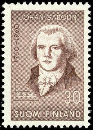 Johan Gadolin - Johan Gadolin