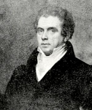 Doggett's Repository of Arts - Portrait of John Doggett, proprietor, 19th century