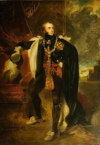 John Hamilton, 1st Marquess of Abercorn - Portrait by Sir Thomas Lawrence