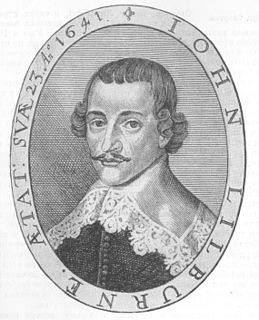 John Lilburne English political activist