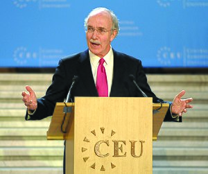 John Shattuck - John Shattuck, inauguration as Central European University President and Rector. November 2, 2009