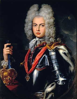 John V of Portugal - Portrait by Pompeo Batoni, c. 1707.
