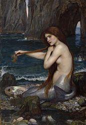 John William Waterhouse: A Mermaid