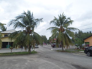 Johor Lama Mukim in Johor, Malaysia