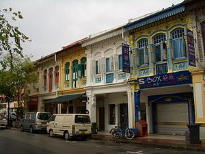 Singaporeans - Shophouses in Singapore