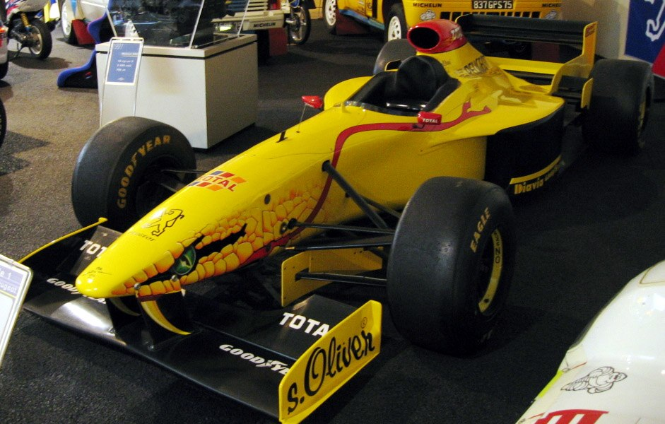 Jordan 197 Peugeot museum