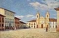 José Wasth Rodrigues - Páteo da Sé e Igreja de São Pedro, 1858, Acervo do Museu Paulista da USP (cropped).jpg