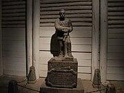 Josef Pilsudski made of salt