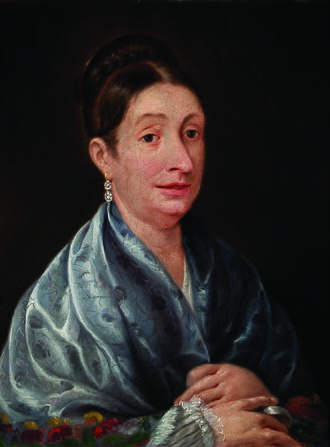 Josefa Ortiz de Domínguez - Posthumous interpretation of Josefa Ortiz, dated 1880.