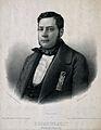 Joseph Dieudonné Jean Baptiste Boussingault. Lithograph. Wellcome V0000705.jpg