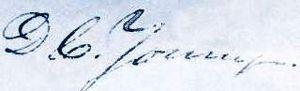Don Carlos Young - Image: Joseph Don Carlos Young sign