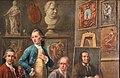 Joseph mc pherson, conversazione nello studio del pittore johann zoffany, 1772-28 (fi, gam) 03 antichità.jpg