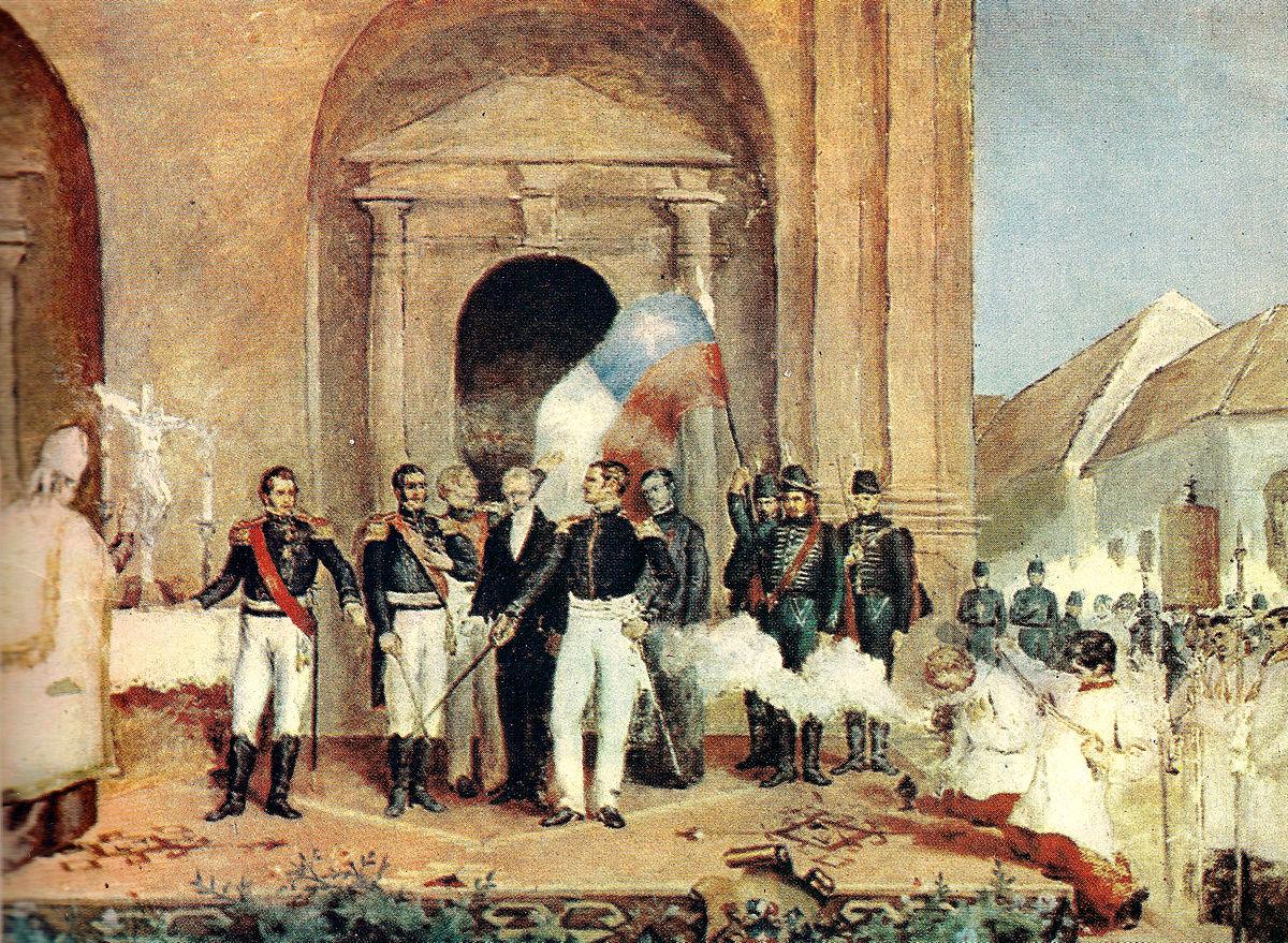 Guerra de la Independencia de Chile - Wikipedia, la