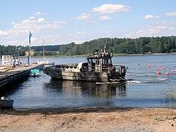 Jurmo-luokan joukkojenkuljetusvene, 7.8.2007.JPG