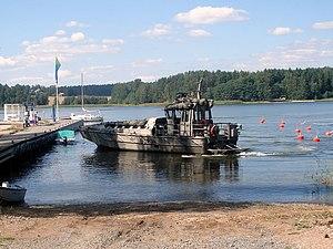 Watercat M14-class landing craft - Image: Jurmo luokan joukkojenkuljetusven e, 7.8.2007